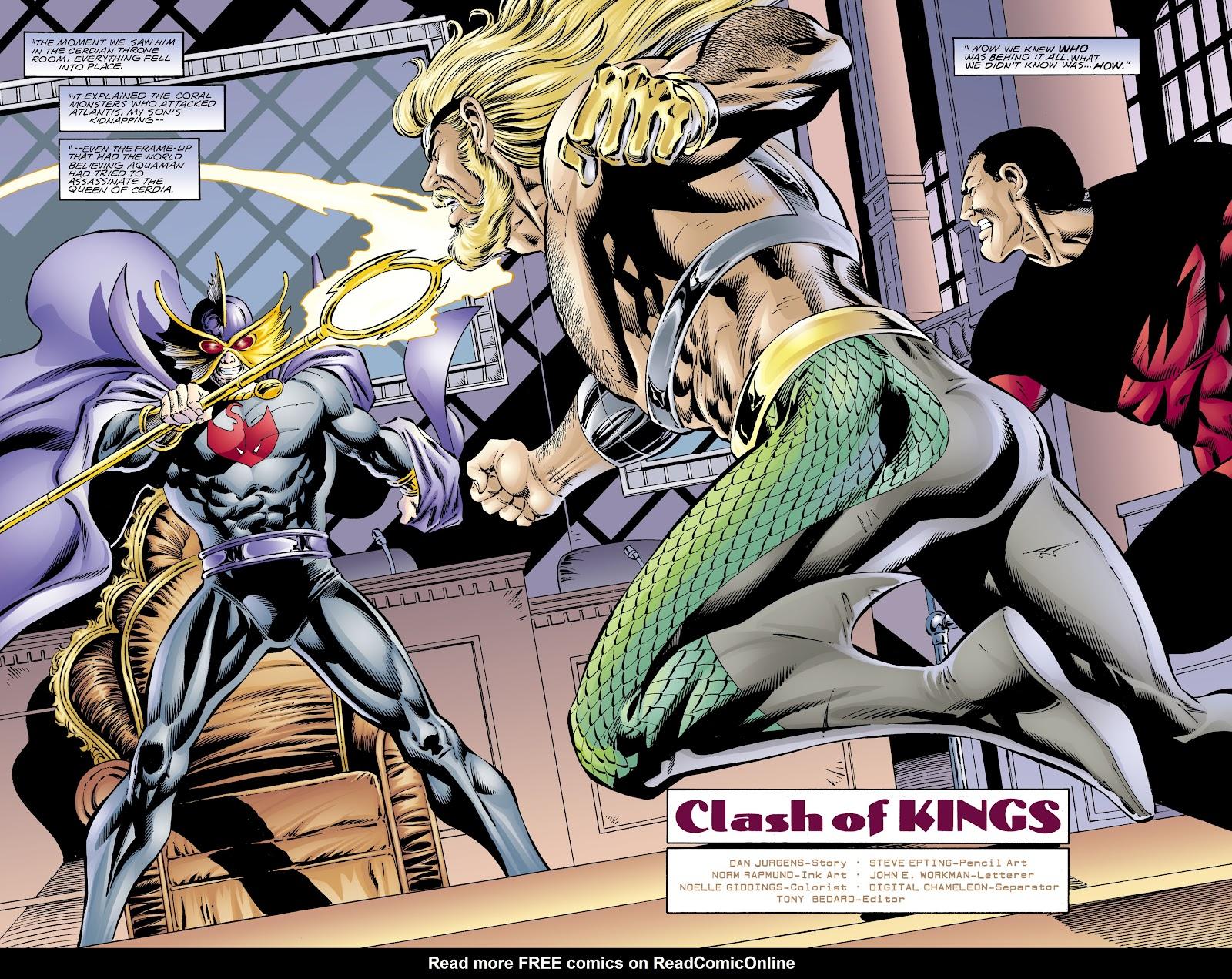 Aquaman (1994) Issue #67 #73 - English 5