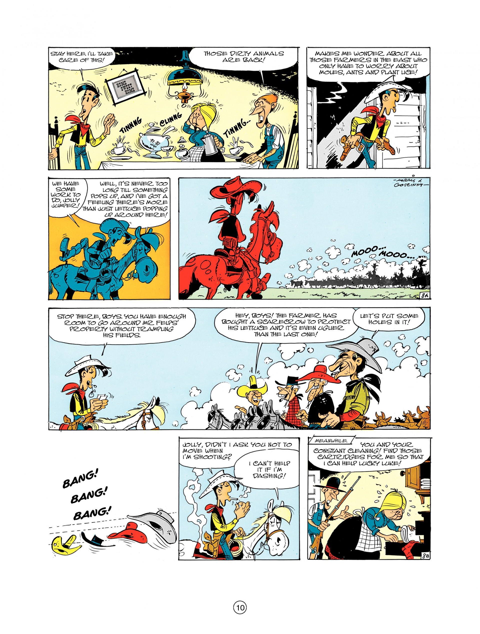 A Lucky Luke Adventure 7 Page 9