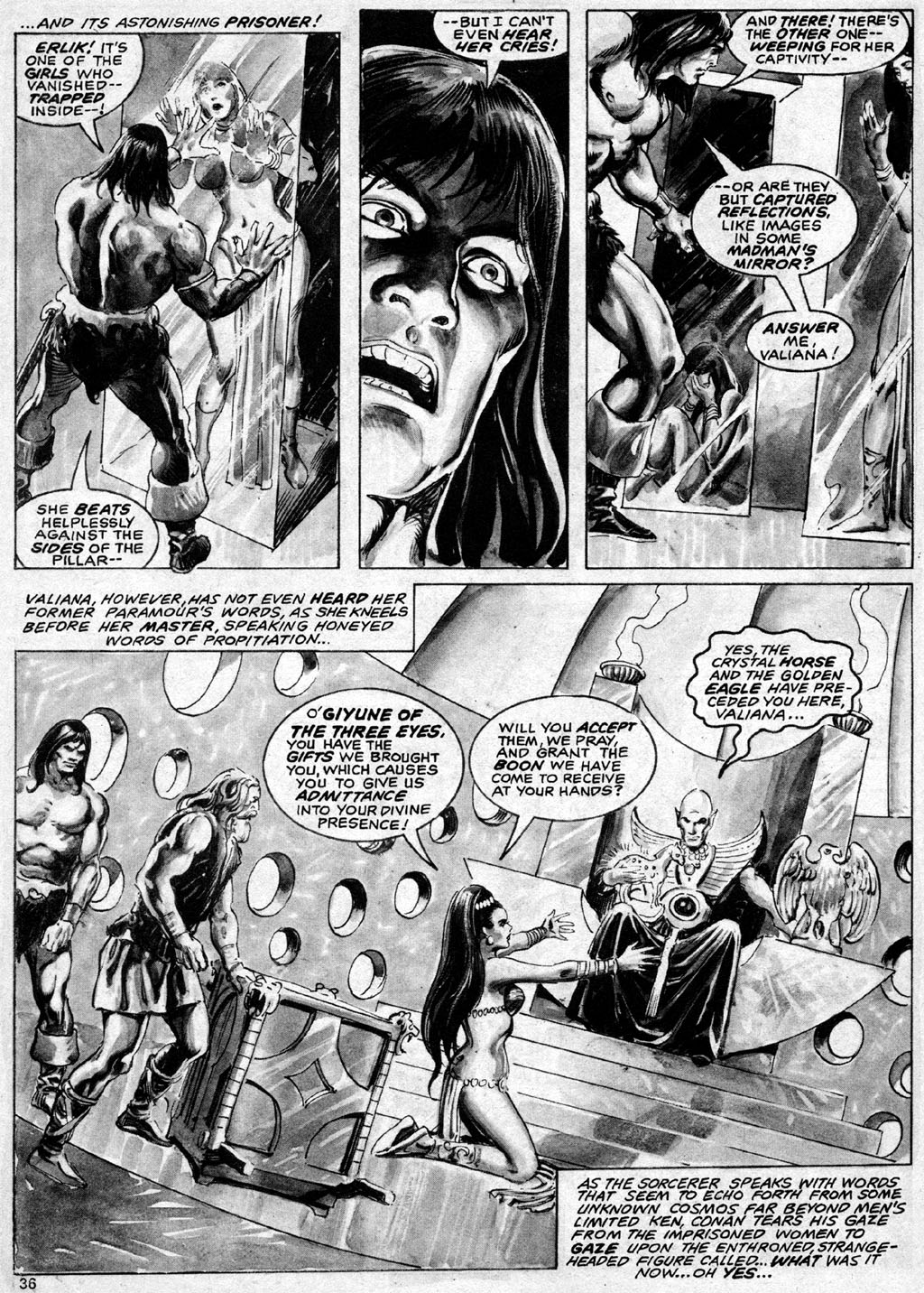The Savage Sword Of Conan Issue #69 #70 - English 36