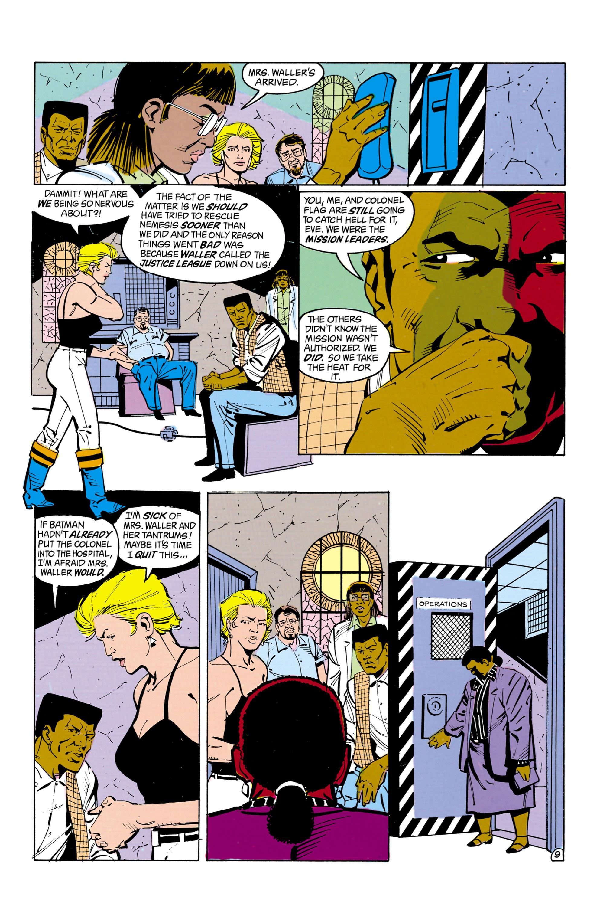 Suicide Squad (1987) 14 Page 9