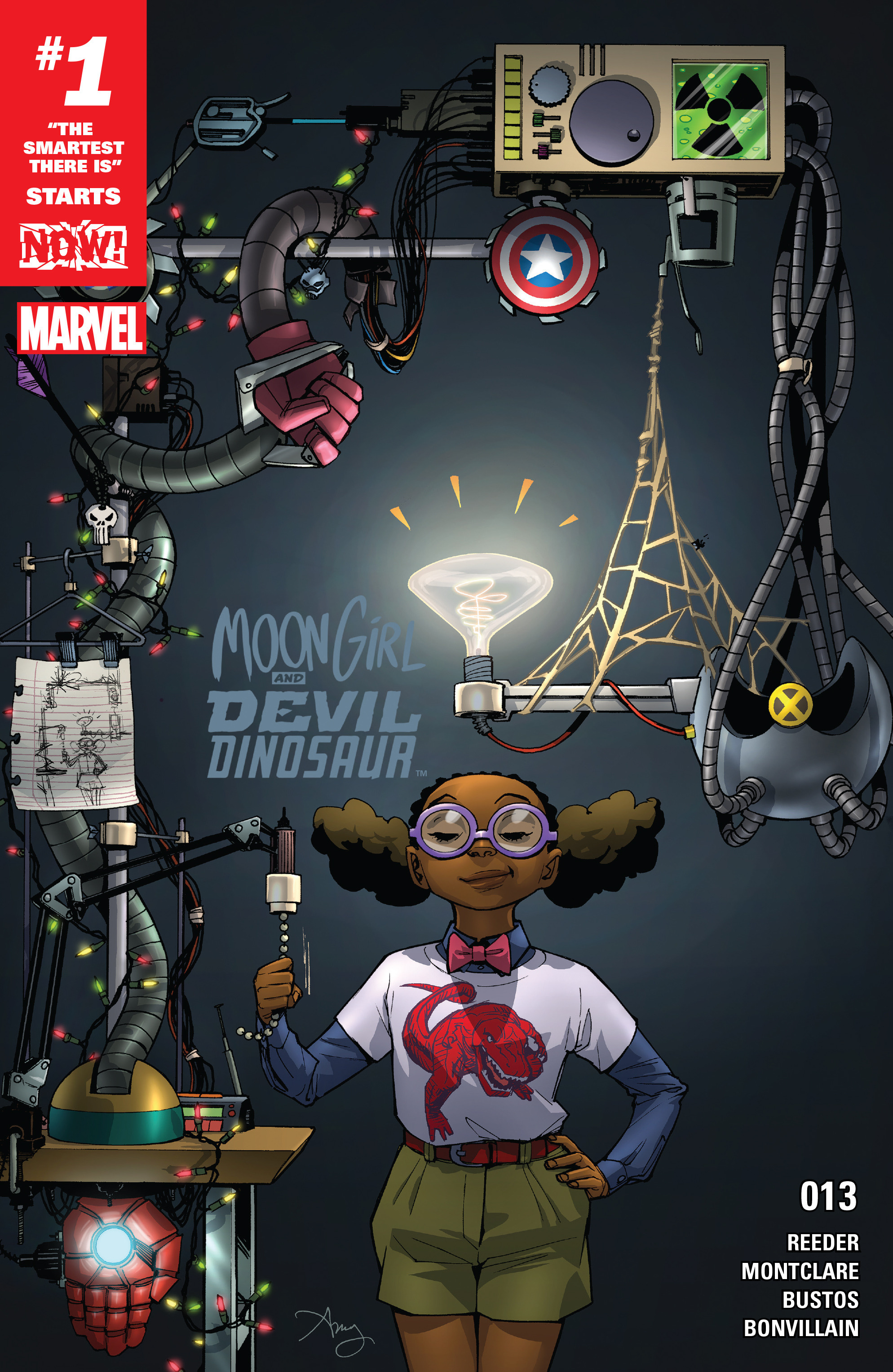 Moon Girl And Devil Dinosaur issue 13 - Page 1