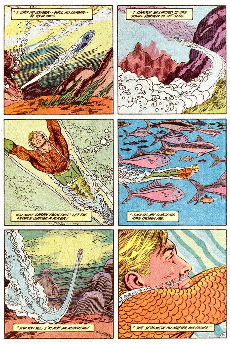 Aquaman (1989) Issue #5 #5 - English 22