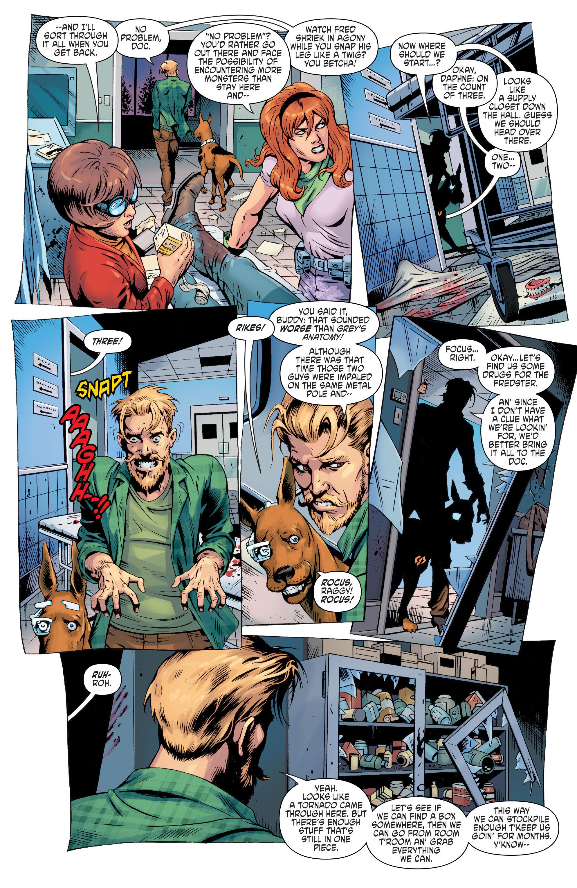 Read online Scooby Apocalypse comic -  Issue #8 - 7