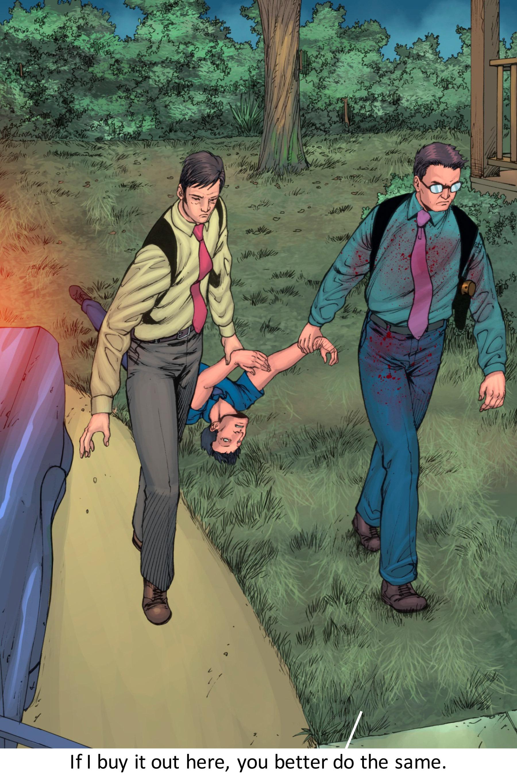 Read online Z-Men comic -  Issue #3 - 144