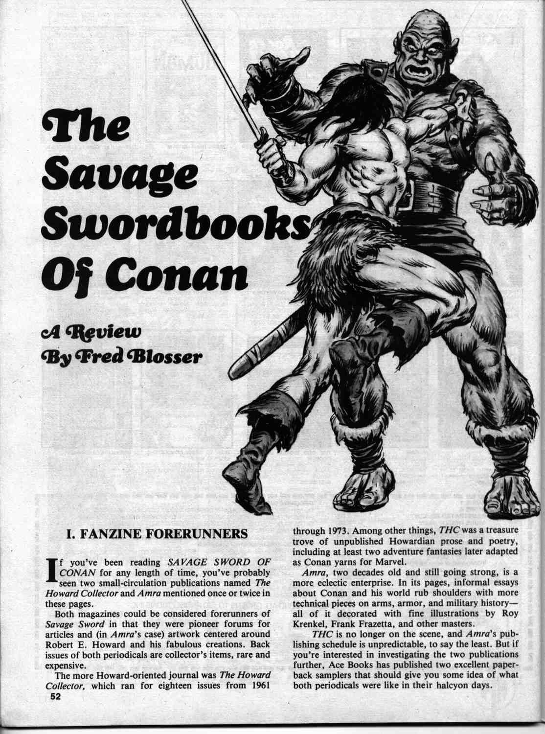 The Savage Sword Of Conan Issue #46 #47 - English 50