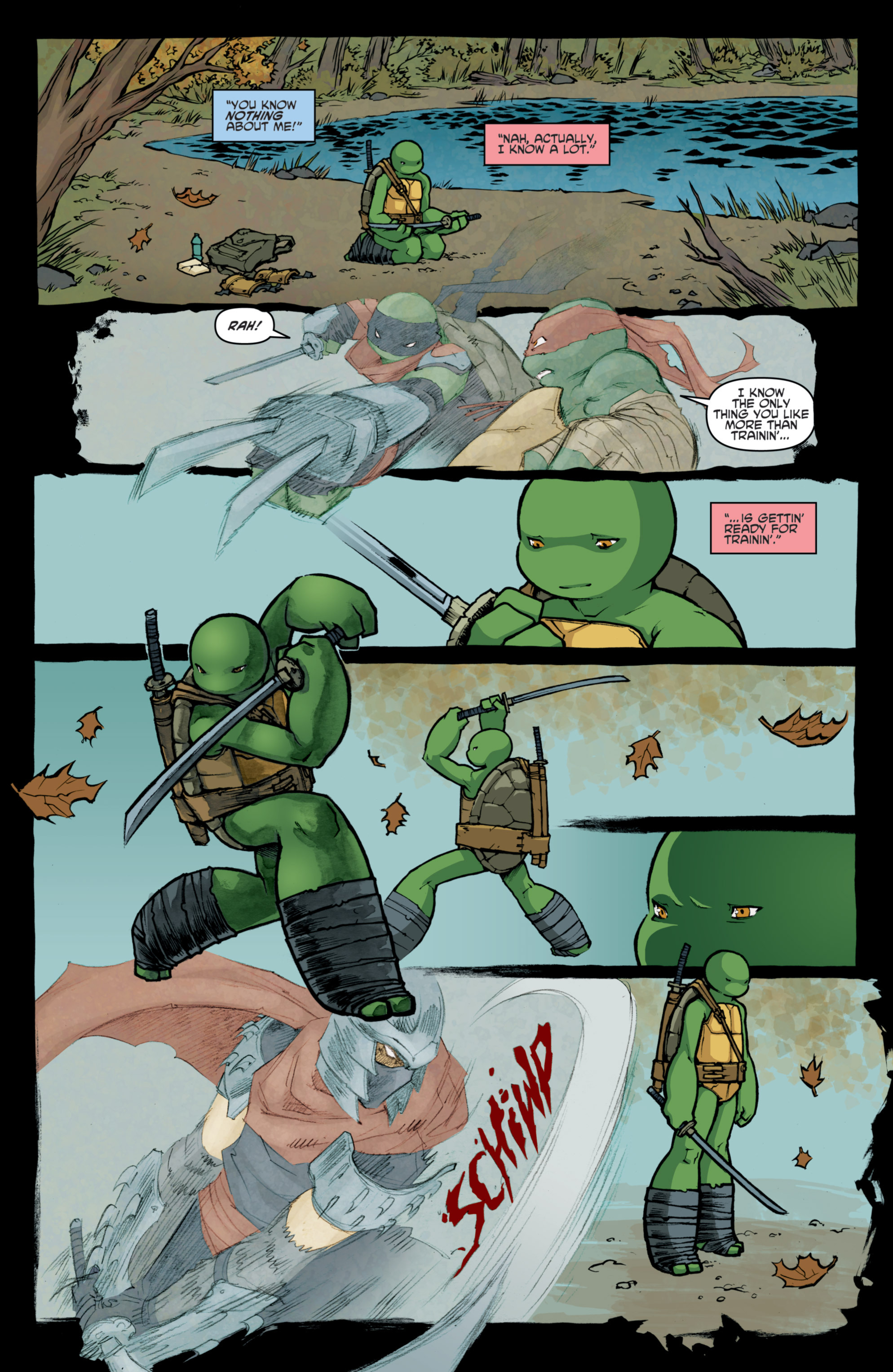 Read online Teenage Mutant Ninja Turtles (2011) comic -  Issue #31 - 11