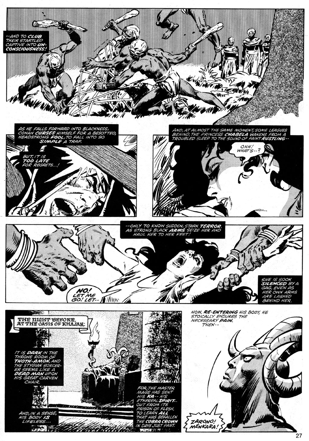 The Savage Sword Of Conan Issue #41 #42 - English 27