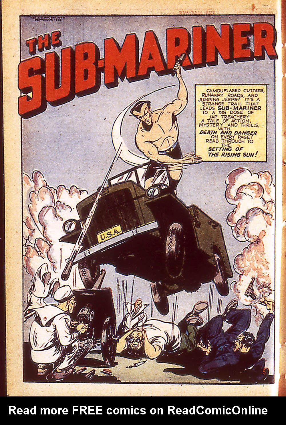 Sub-Mariner Comics Issue #8 #8 - English 25