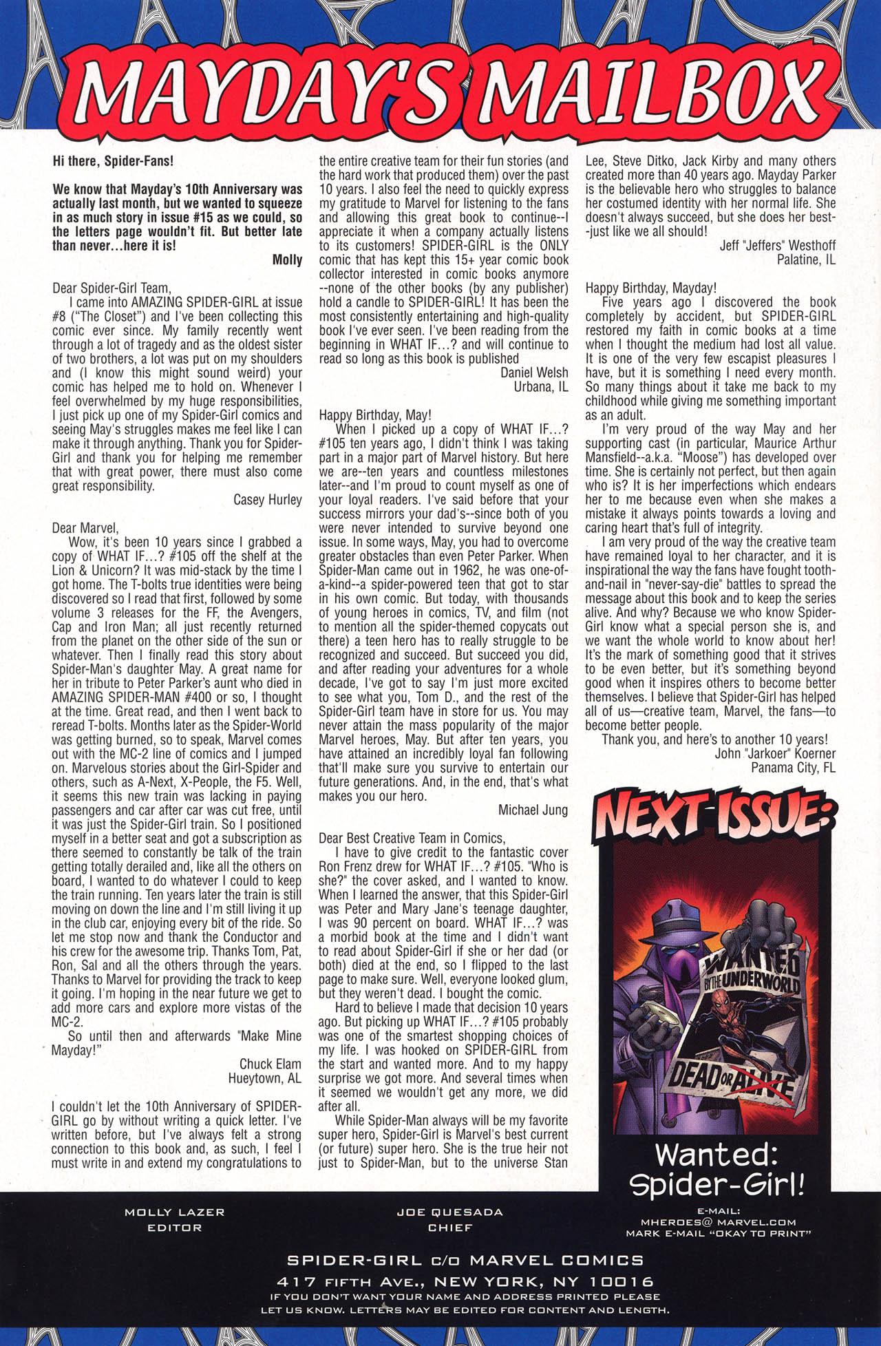 Amazing Spider-Girl #16 #15 - English 31