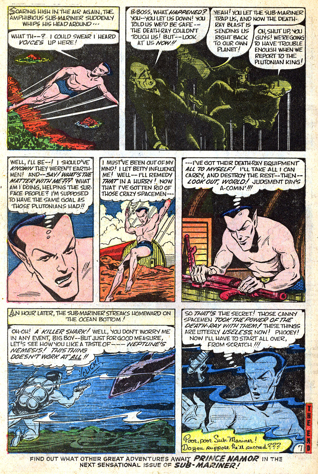 Sub-Mariner Comics #38 #38 - English 33