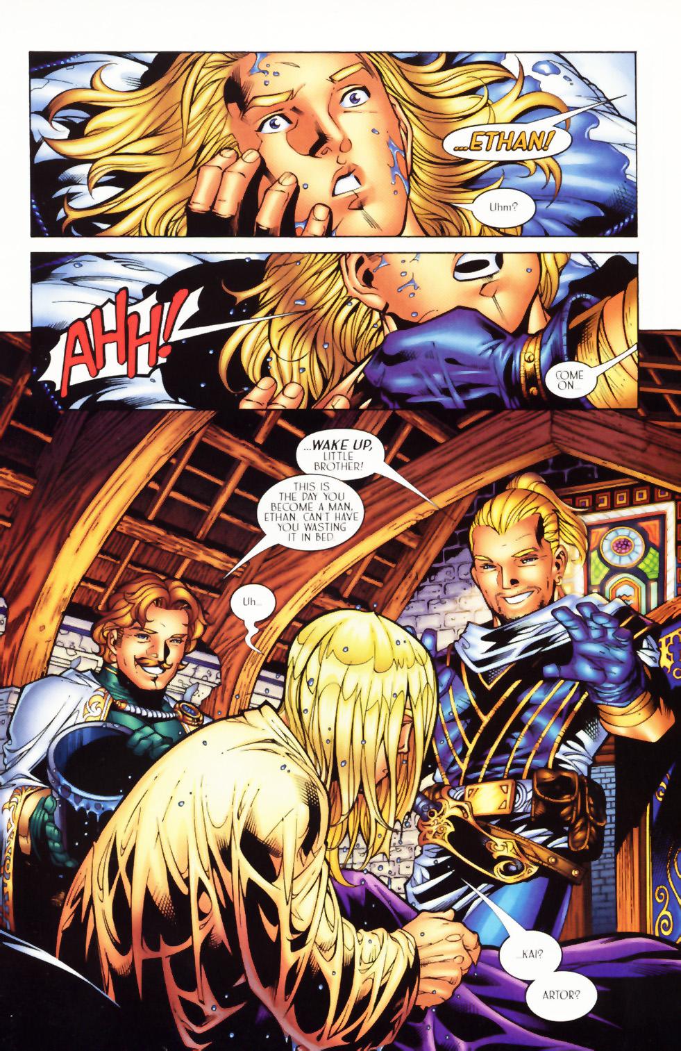 Read online Scion comic -  Issue #1 - 7