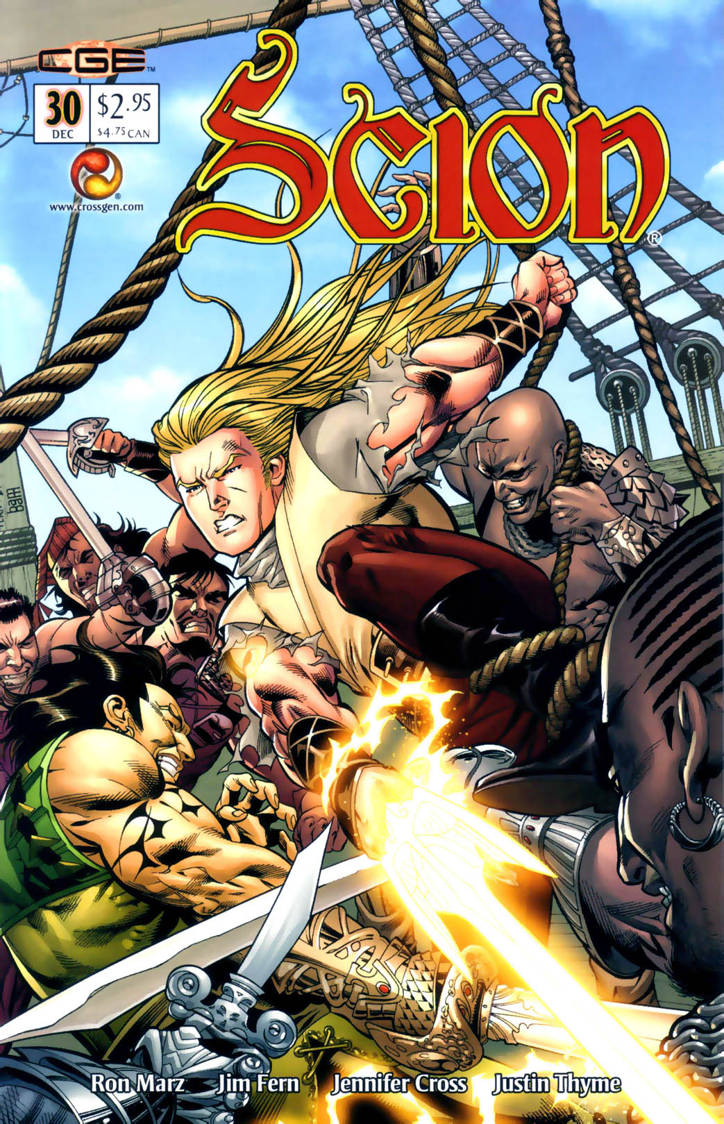 Read online Scion comic -  Issue #30 - 1