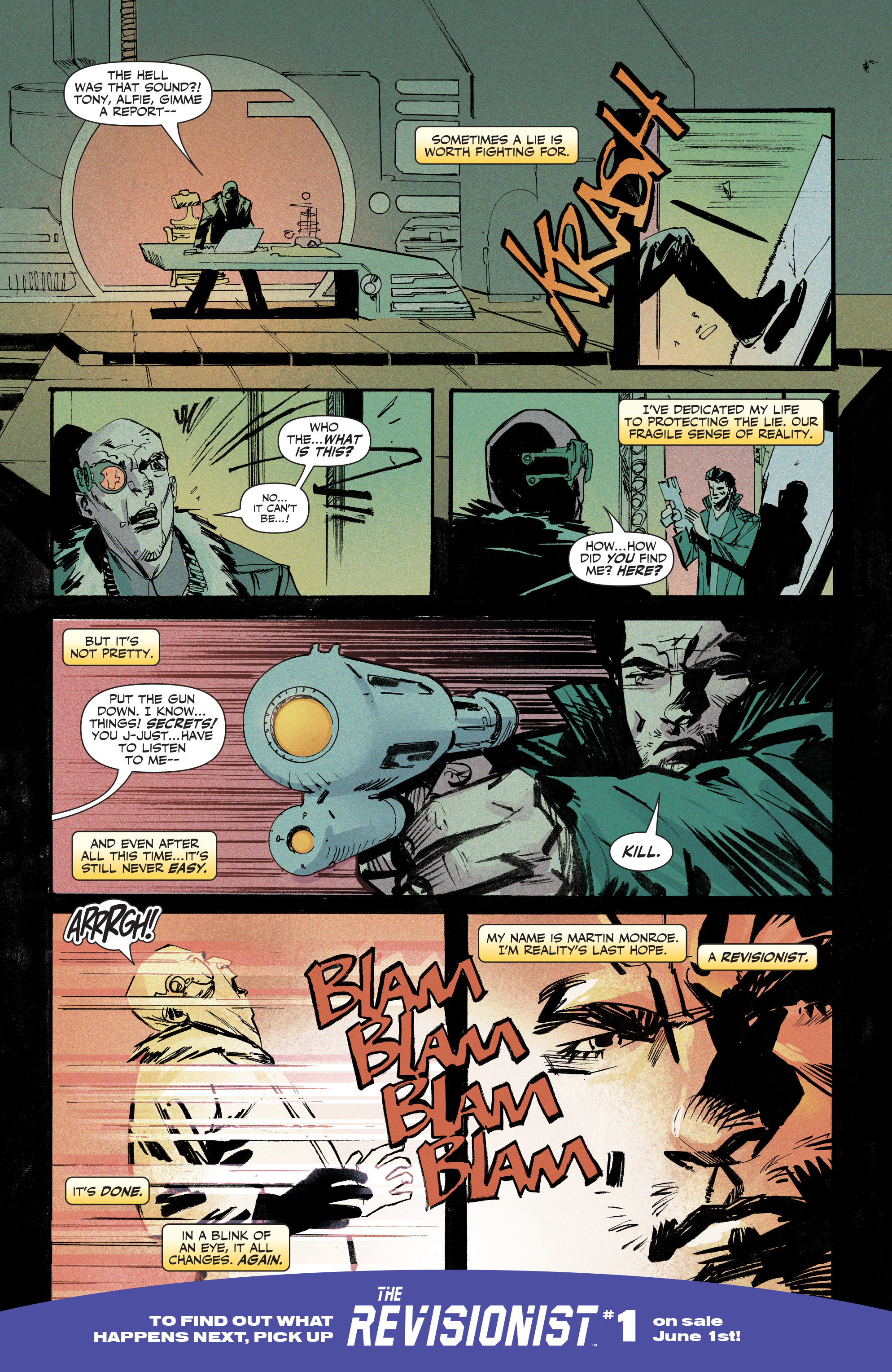Read online Second Sight comic -  Issue #4 - 28