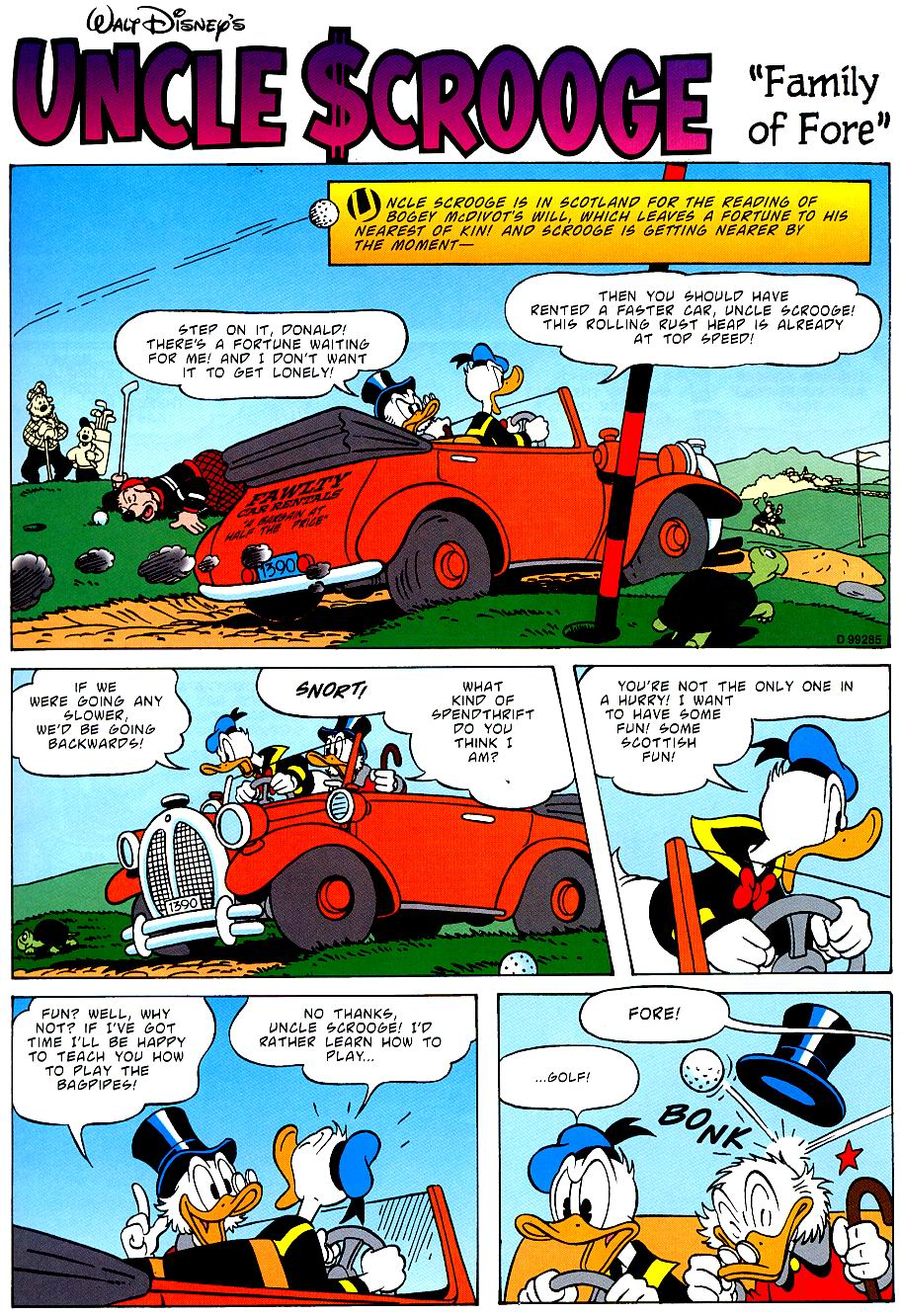 Uncle Scrooge (1953) Issue #319 #319 - English 53