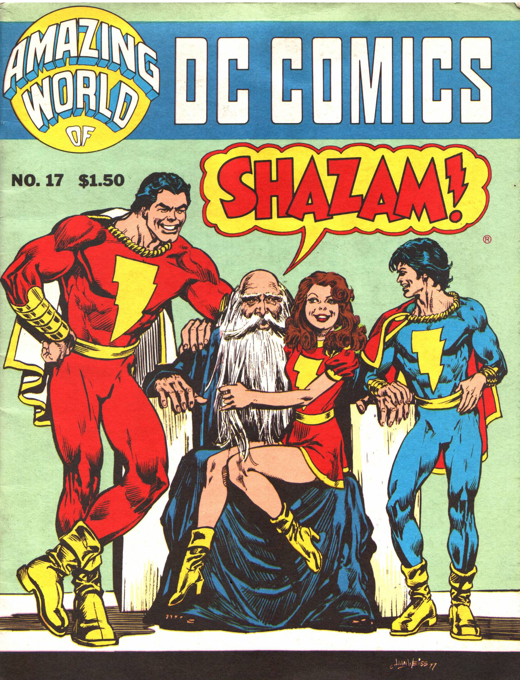 Read online Amazing World of DC Comics comic -  Issue #17 - 1
