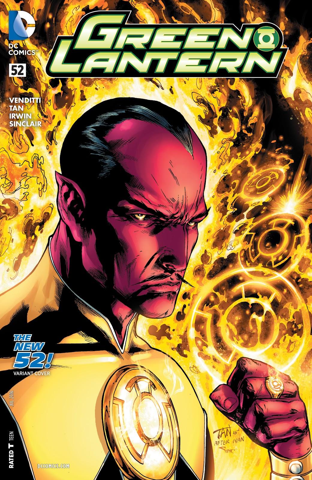 Green Lantern (2011) Issue #52 #61 - English 3