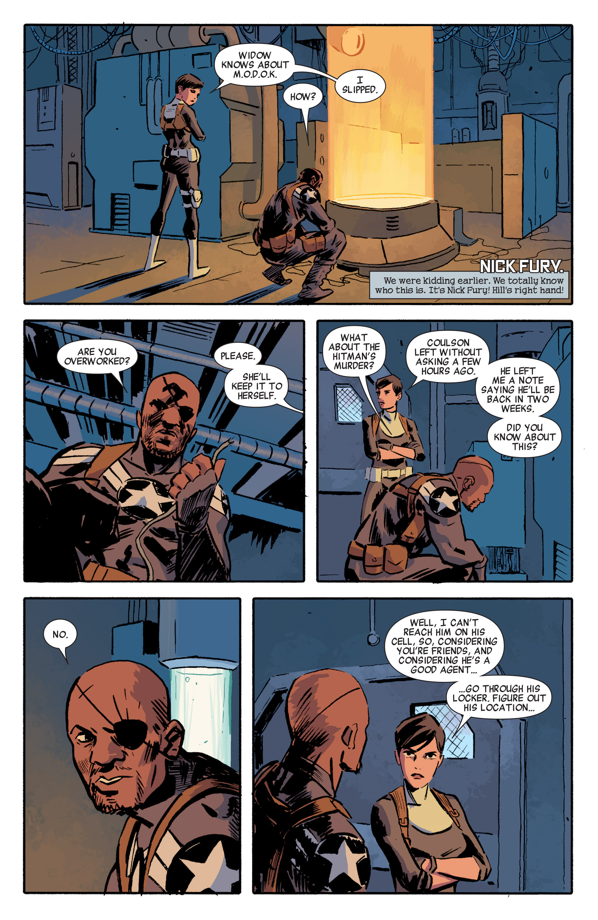 Read online Secret Avengers (2014) comic -  Issue #5 - 13