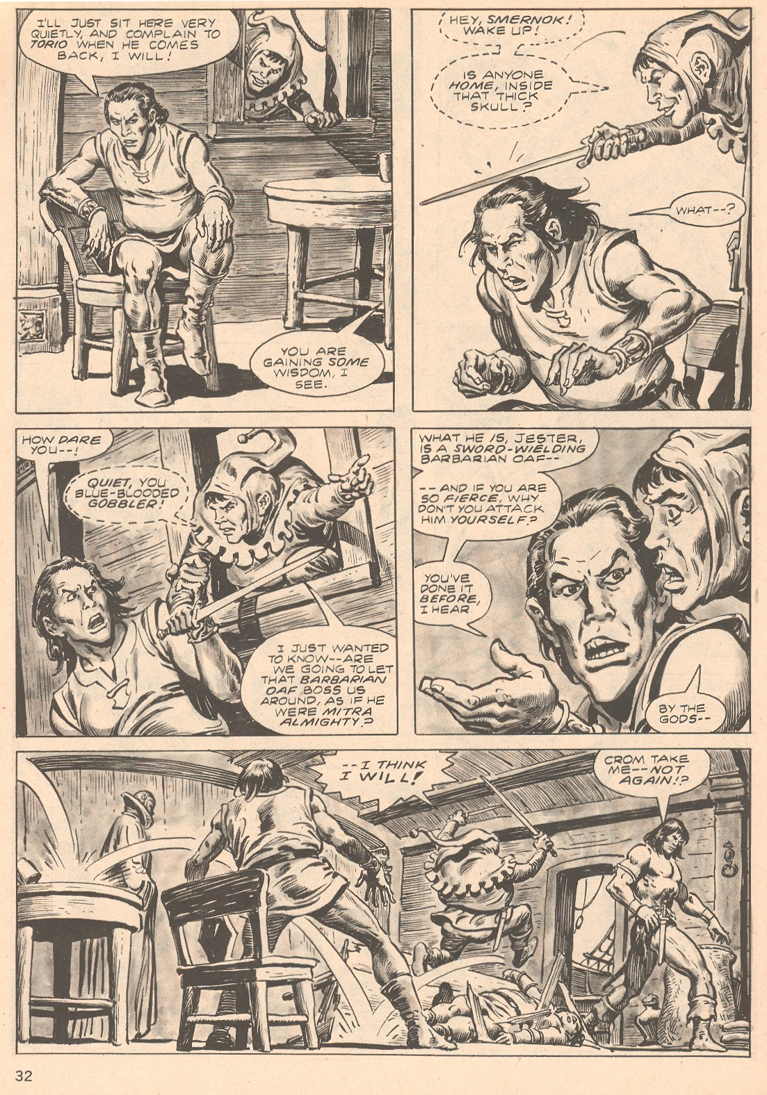 The Savage Sword Of Conan Issue #66 #67 - English 32