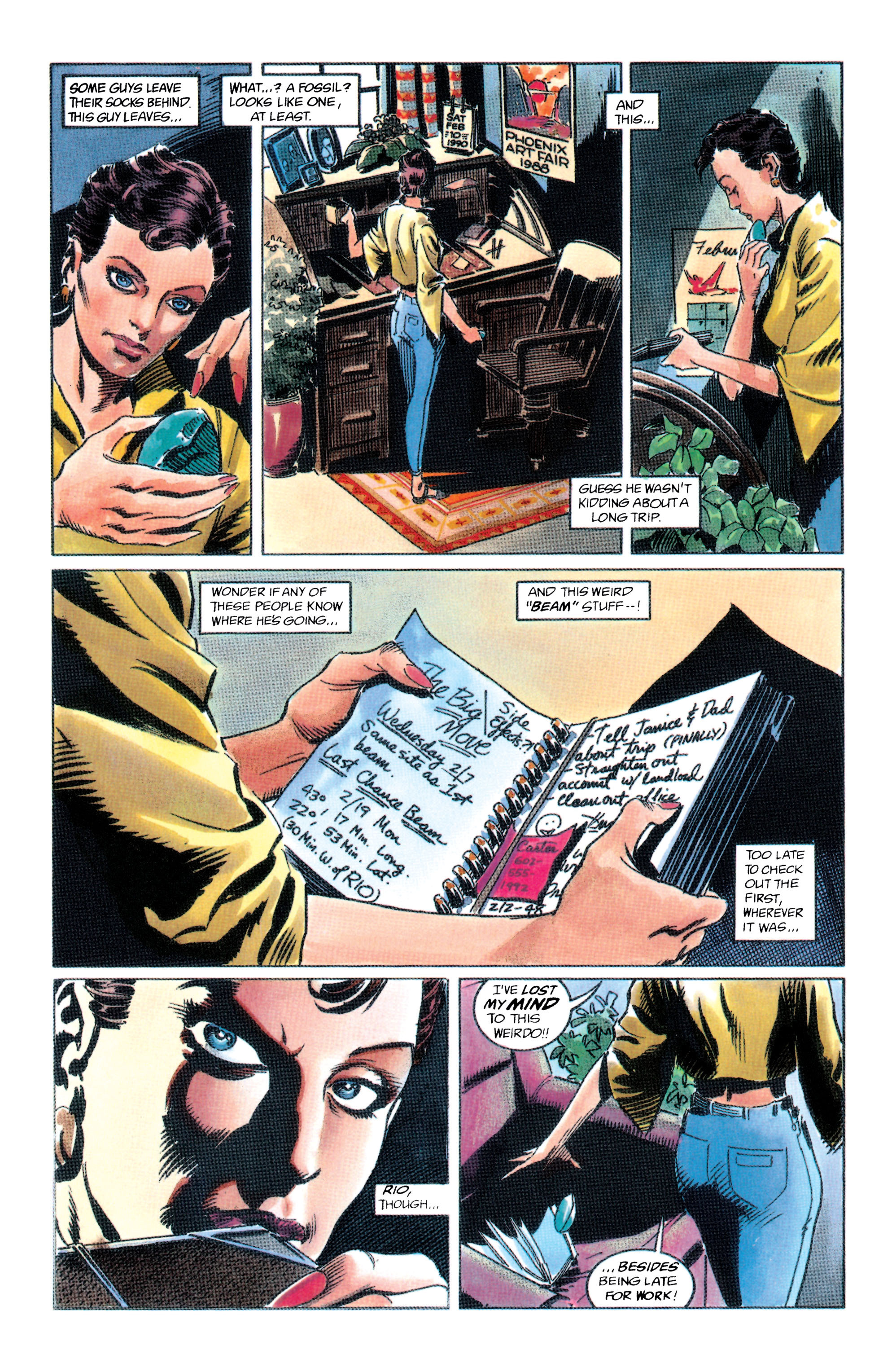 Adam Strange (1990) 2 Page 6
