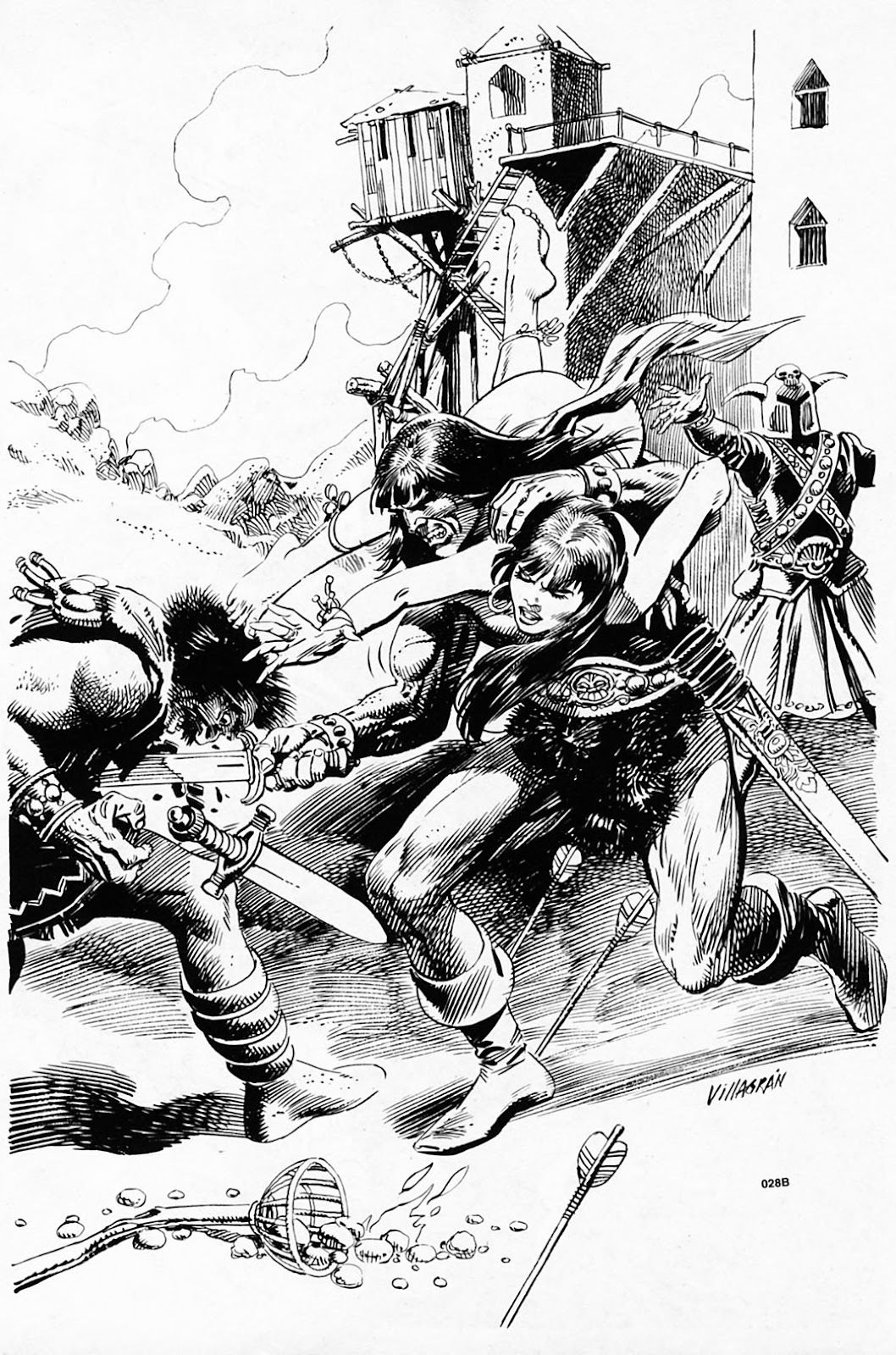 The Savage Sword Of Conan Issue #186 #187 - English 54