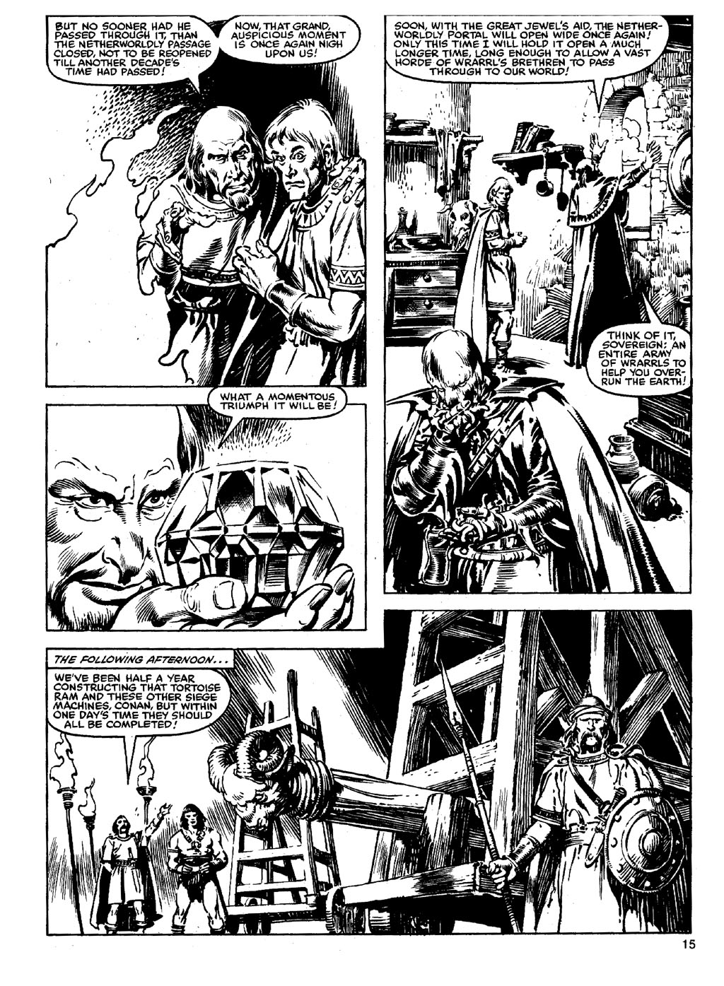 The Savage Sword Of Conan Issue #90 #91 - English 14
