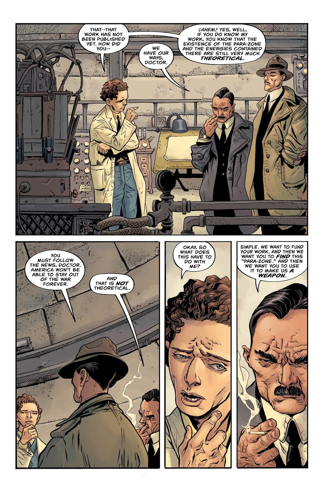 Read online Sherlock Frankenstein and the Legion of Evil comic -  Issue #4 - 21