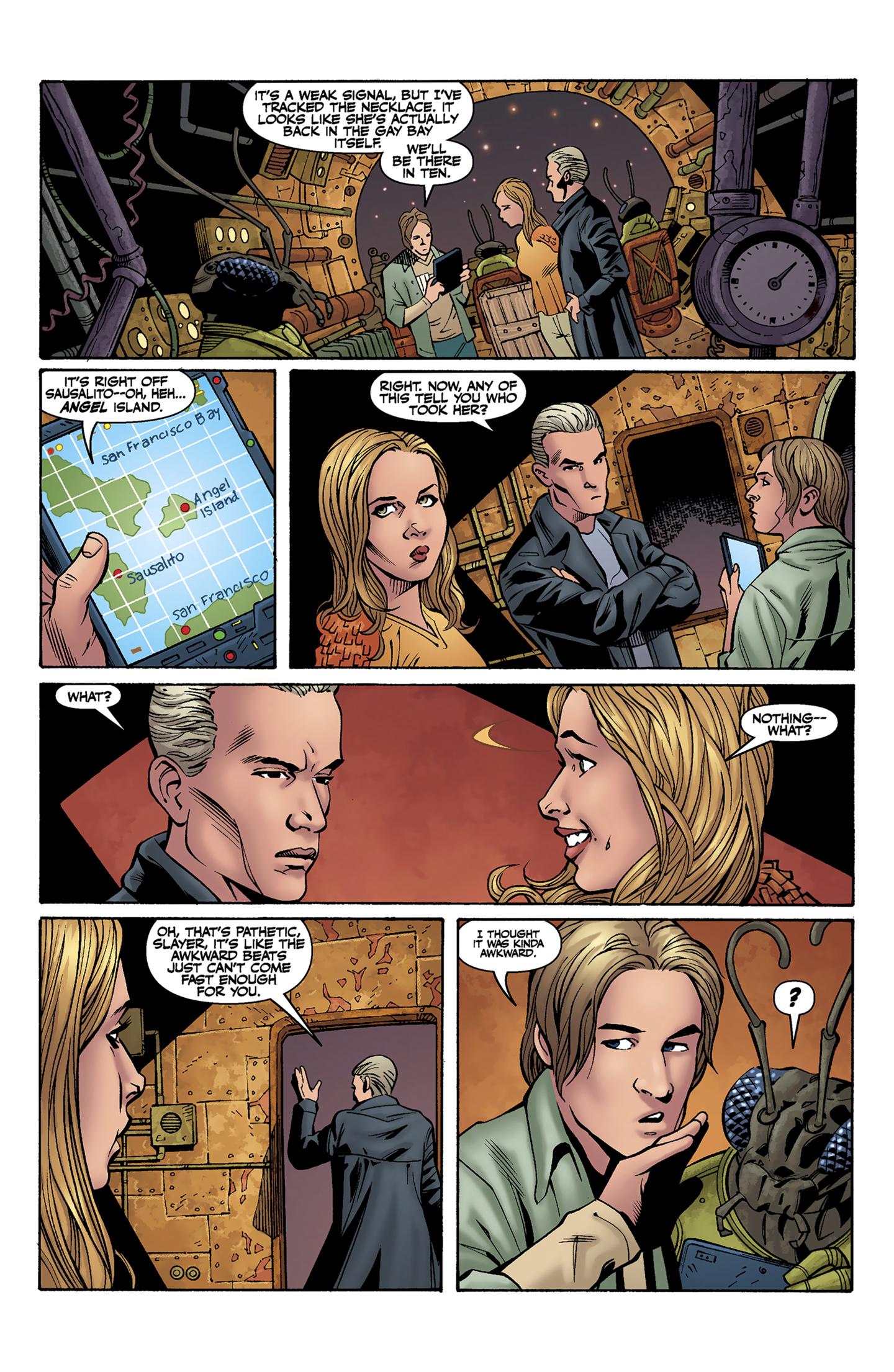 Read online Buffy the Vampire Slayer Season Nine comic -  Issue #9 - 12