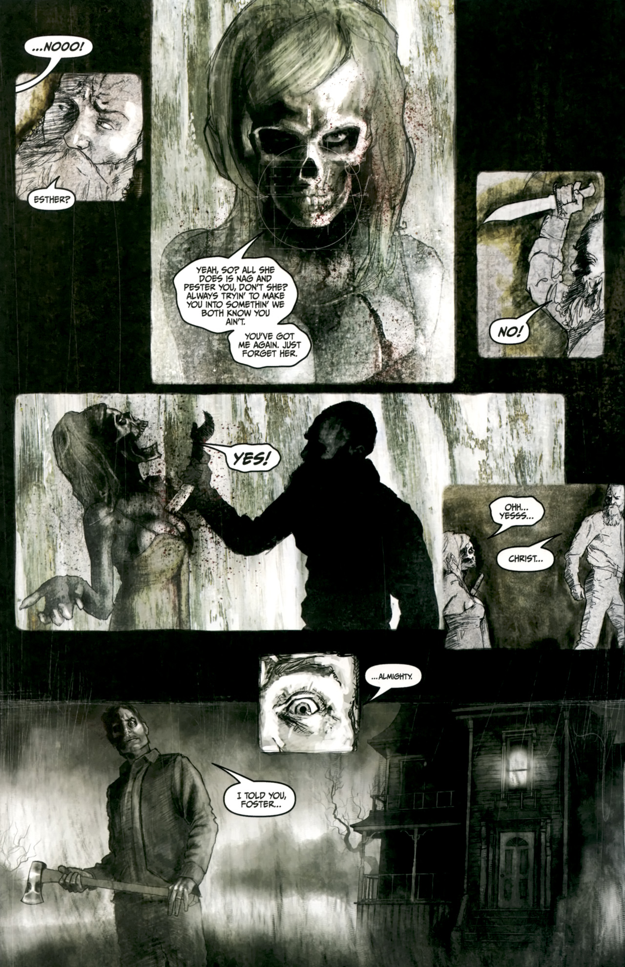 Read online Silent Hill: Past Life comic -  Issue #4 - 10