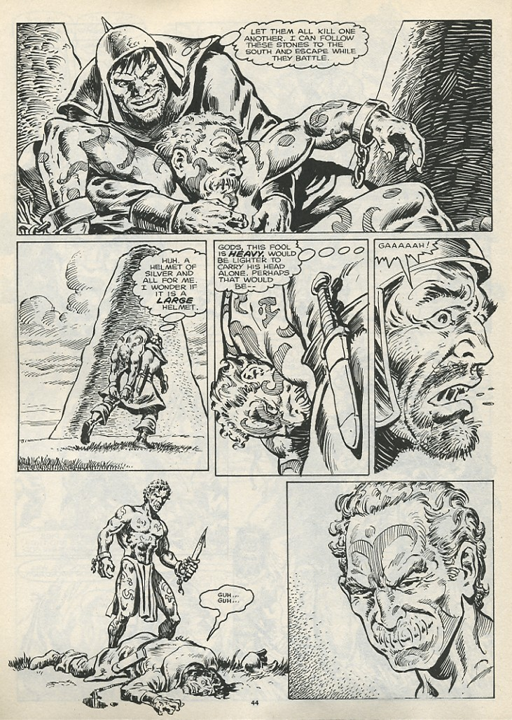 The Savage Sword Of Conan Issue #178 #179 - English 46