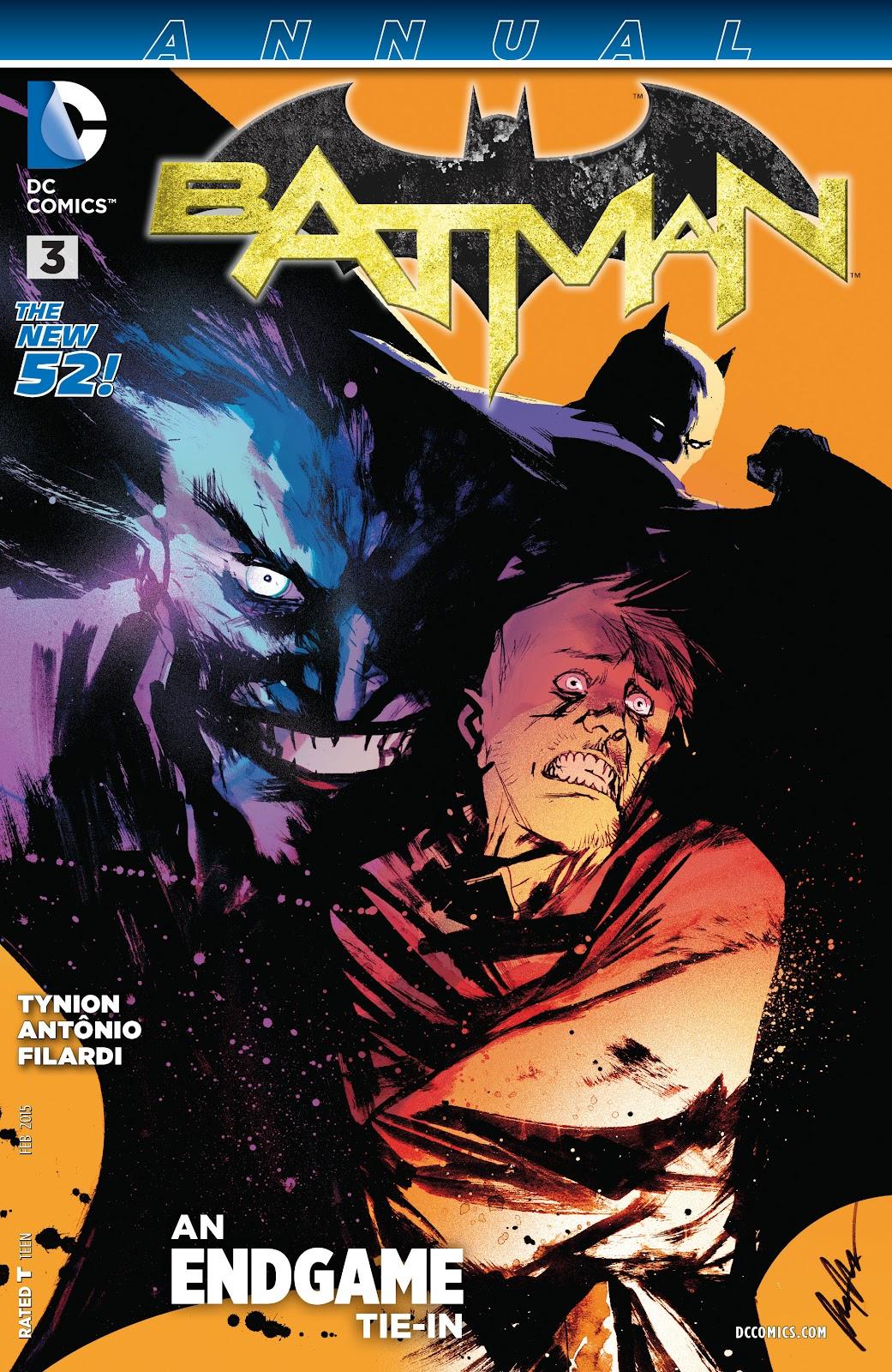 Batman (2011) Annual 3 #13 - English 1