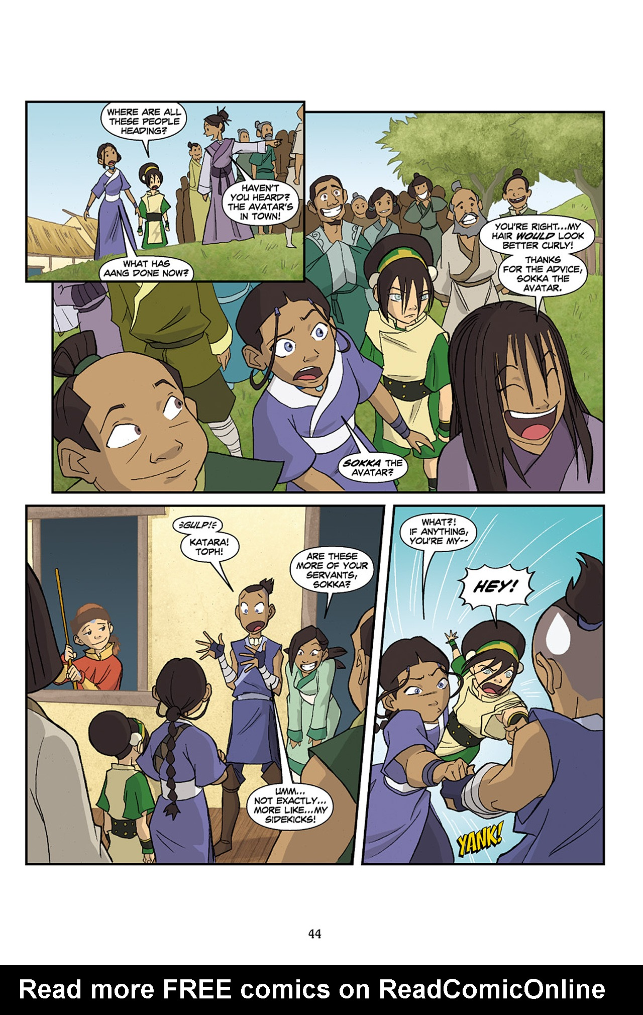 Nickelodeon Avatar: The Last Airbender - The Lost Adventures chap full pic 45