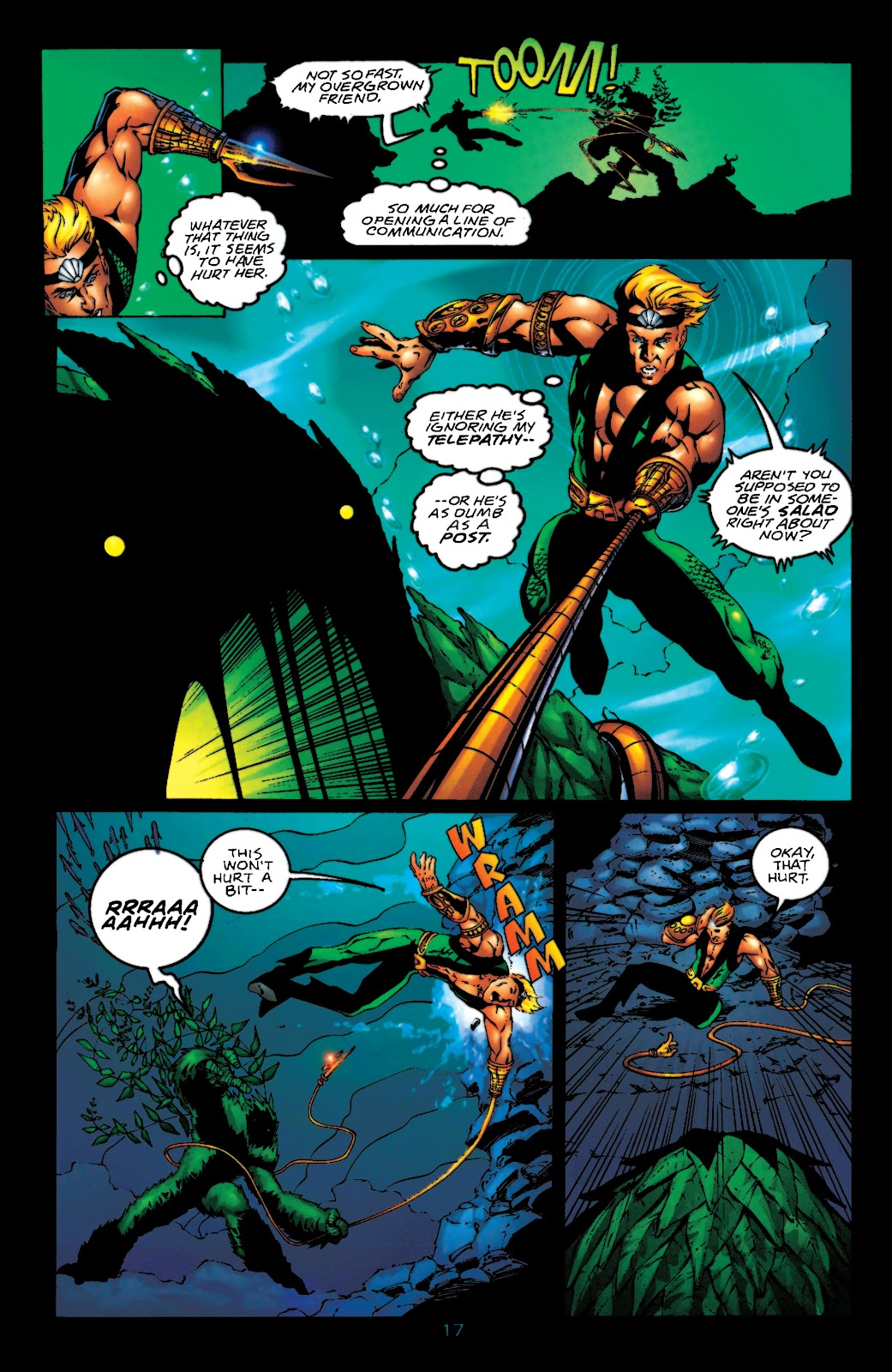Aquaman (1994) Issue #55 #61 - English 18