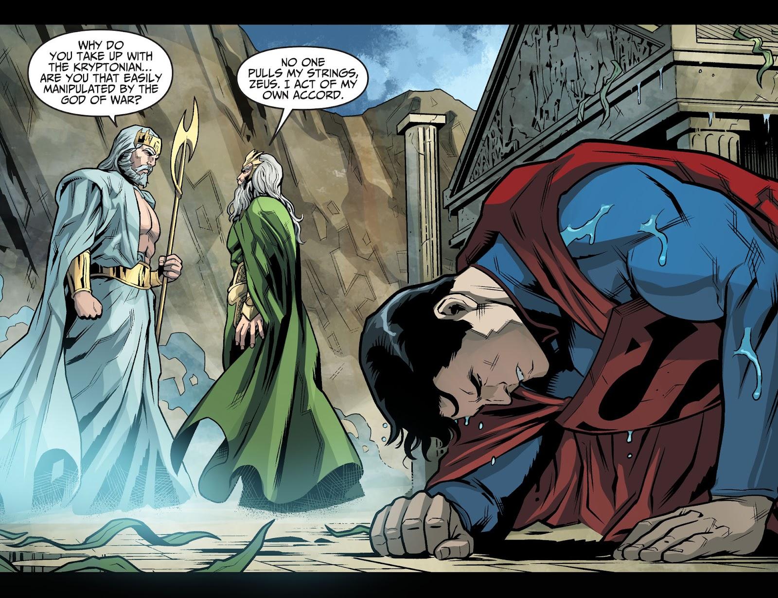 Injustice: Gods Among Us Year Four Issue #20 #21 - English 17