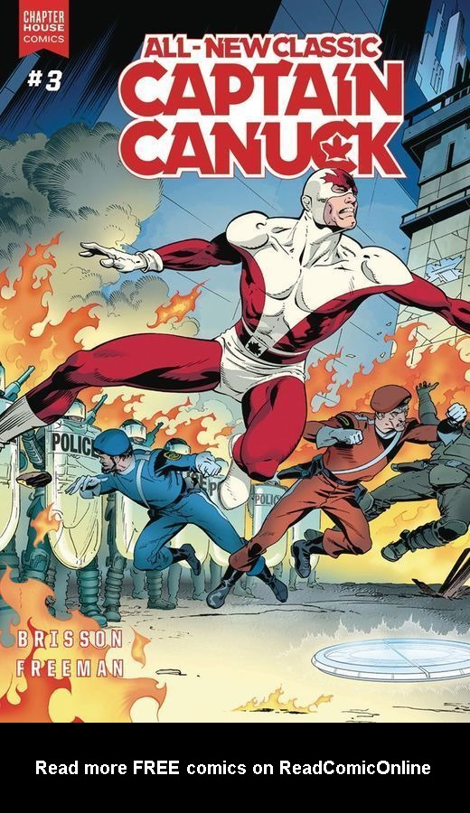 All-New Classic Captain Canuck 3 Page 1