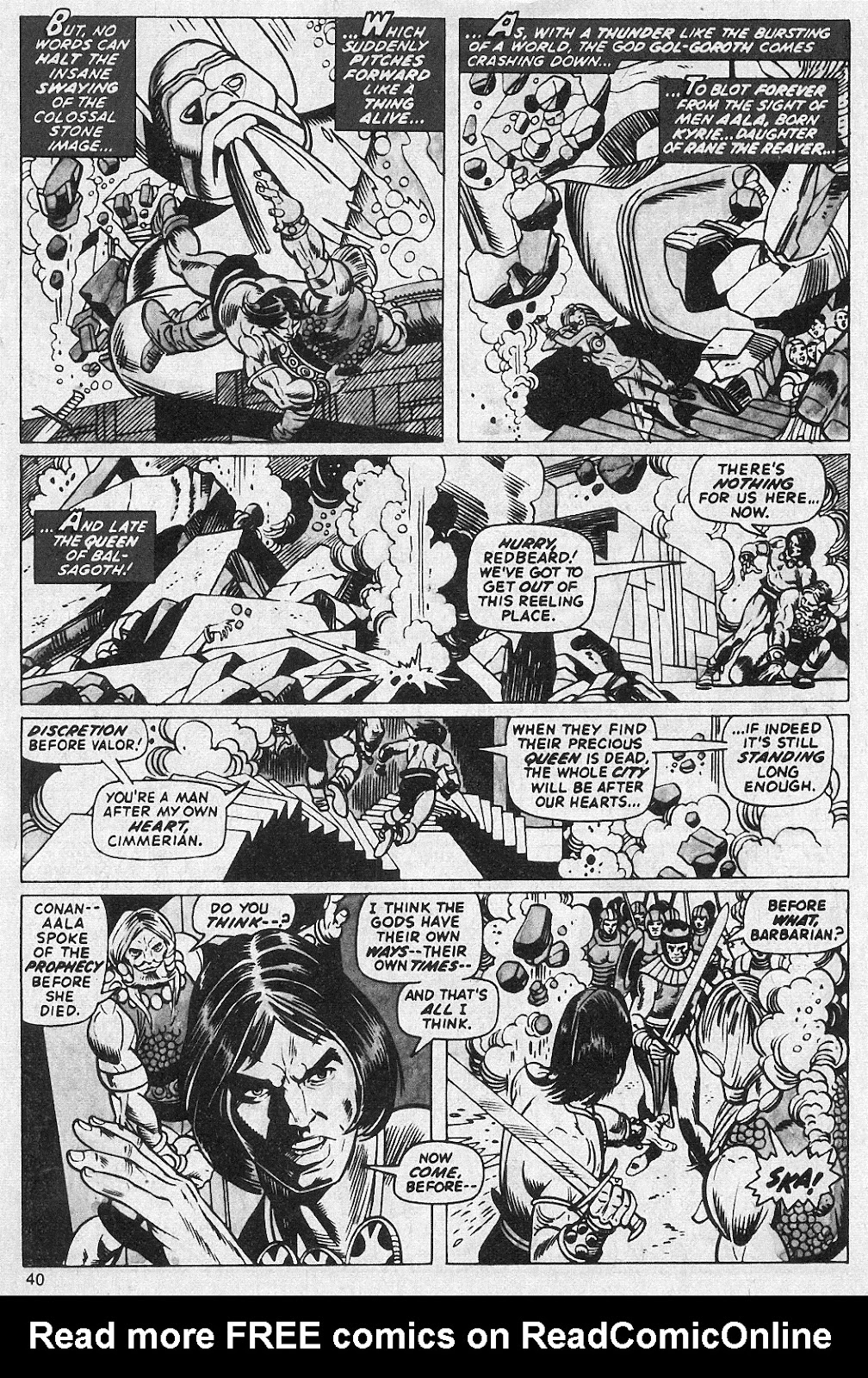 The Savage Sword Of Conan Issue #13 #14 - English 40
