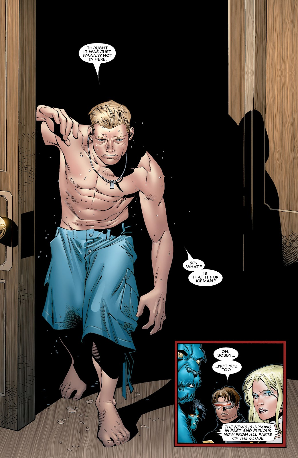 House of M (2005) Issue #8 #8 - English 15