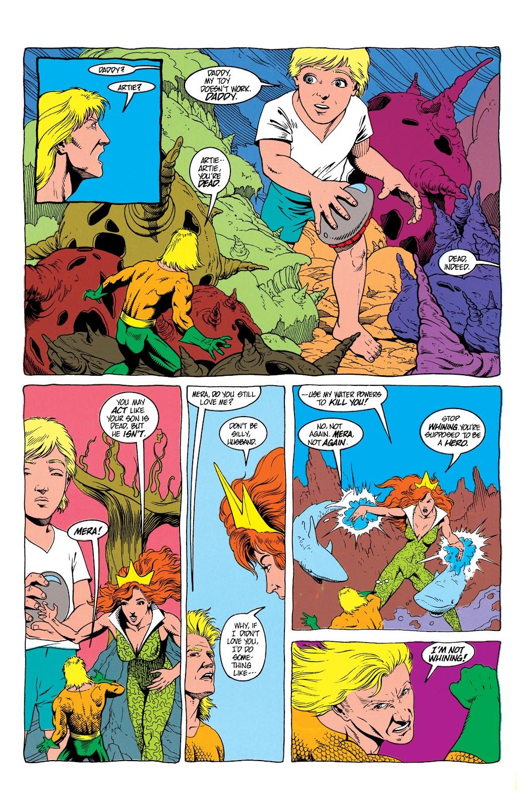 Aquaman (1991) Issue #7 #7 - English 8