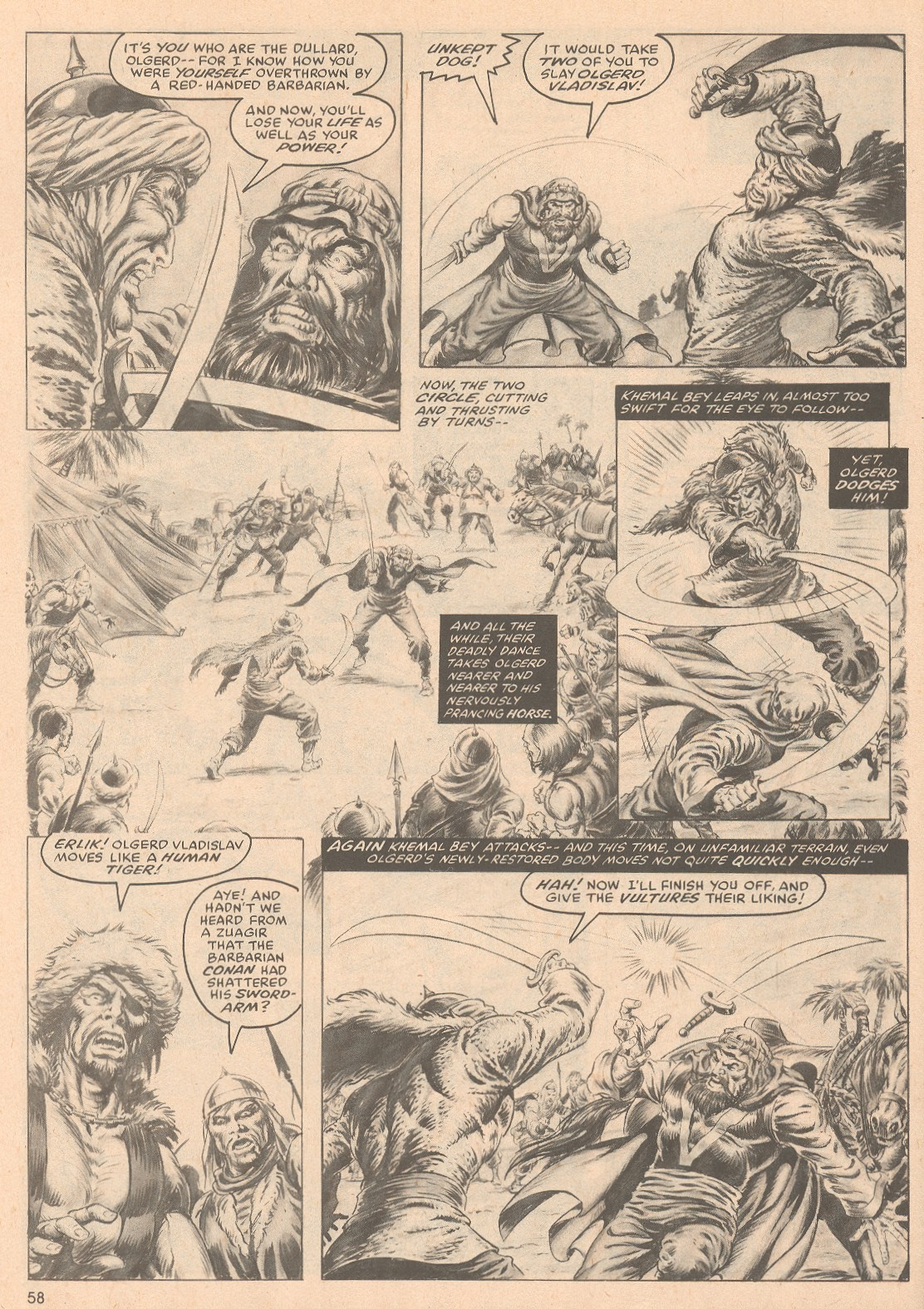 The Savage Sword Of Conan Issue #58 #59 - English 59
