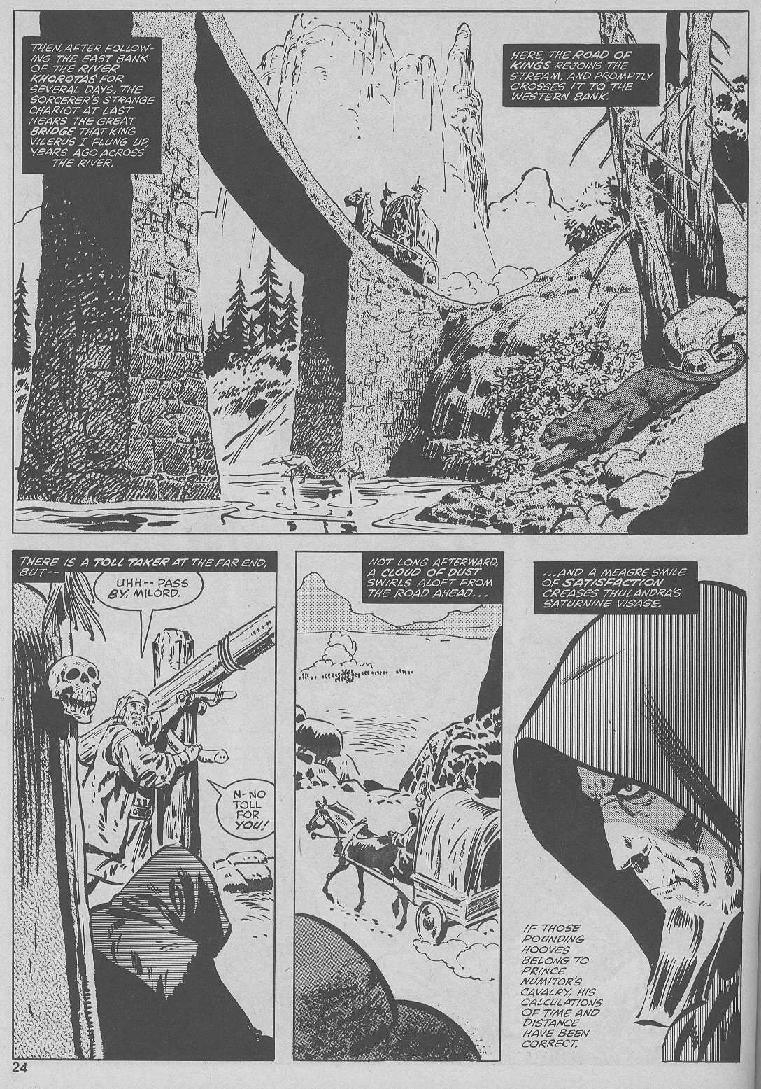The Savage Sword Of Conan Issue #51 #52 - English 24
