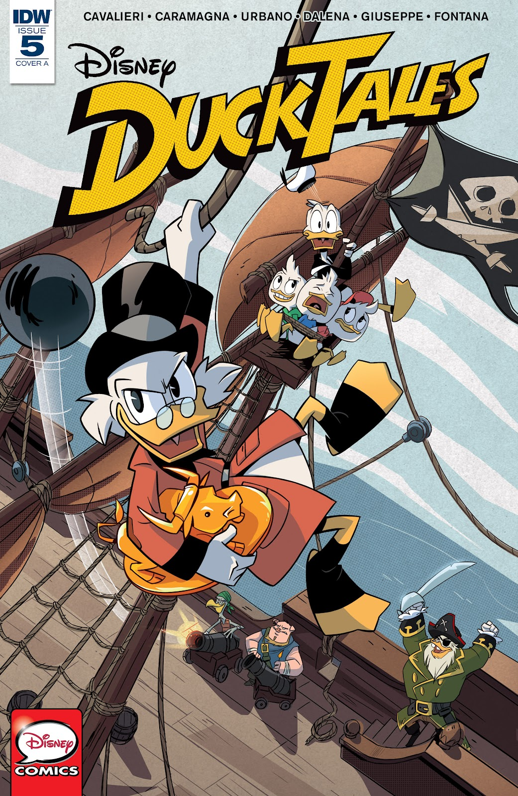 Ducktales (2017) issue 5 - Page 1