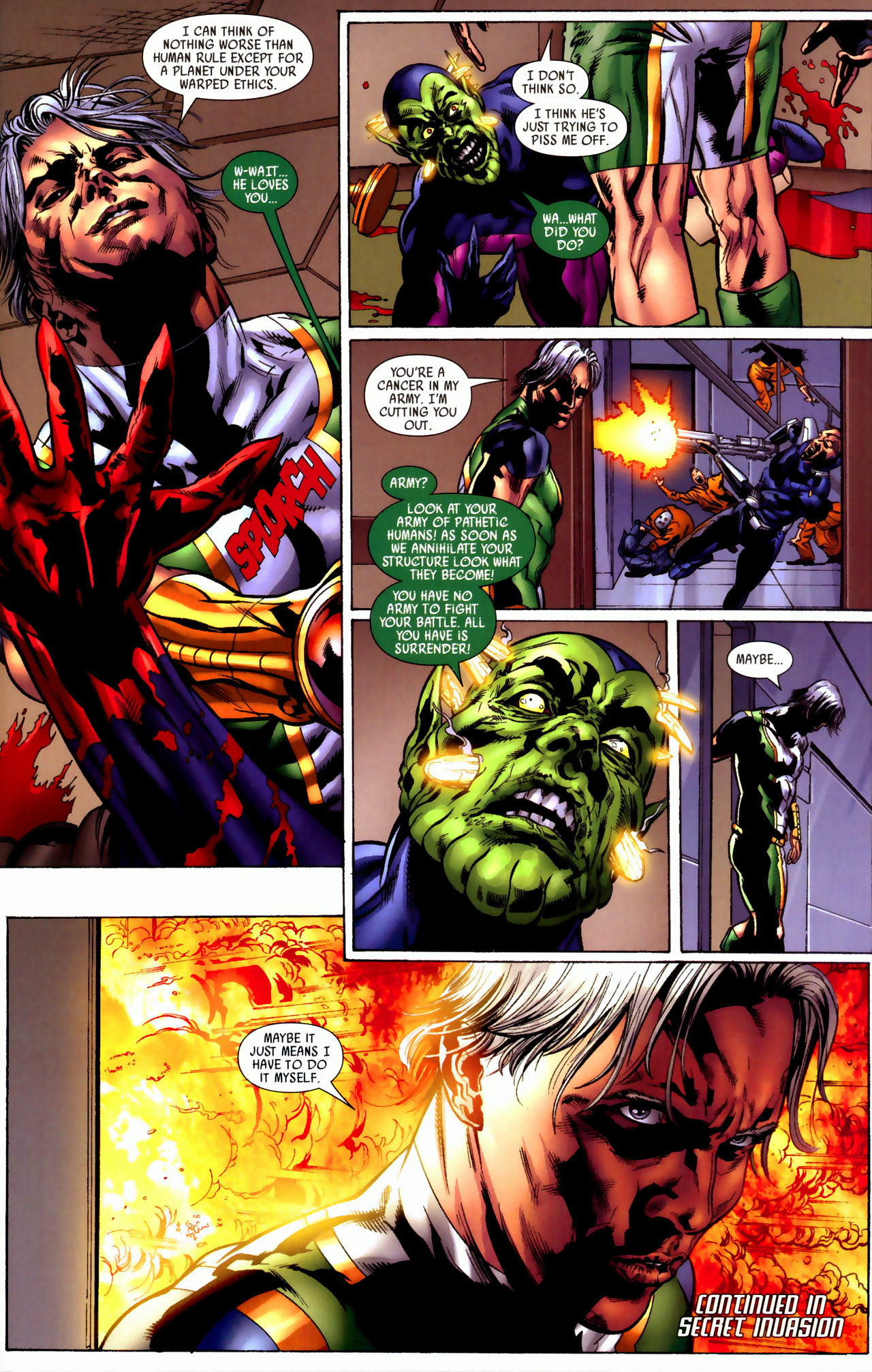 Read online Secret Invasion: Who Do You Trust? comic -  Issue # Full - 36