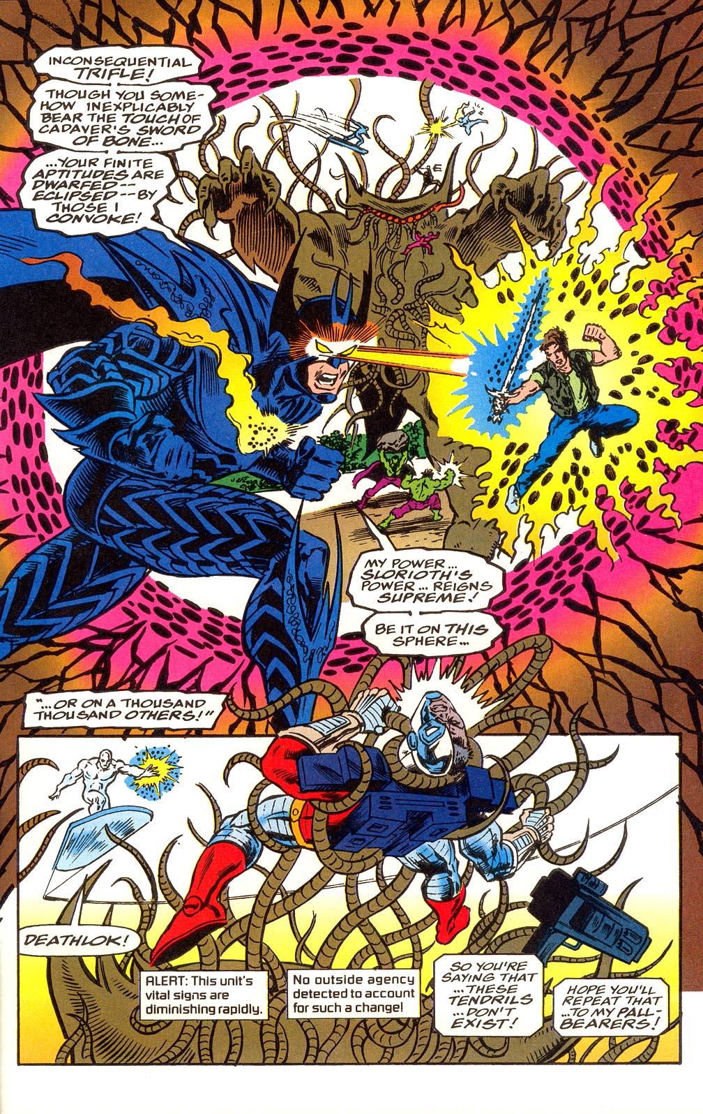 Read online Secret Defenders comic -  Issue #25 - 23