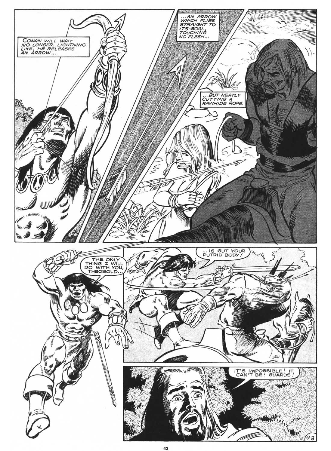 The Savage Sword Of Conan Issue #171 #172 - English 45