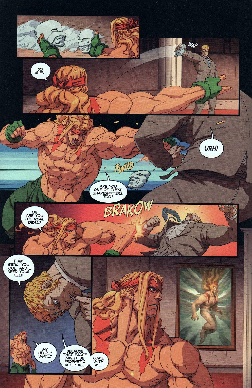 Street Fighter Unlimited Issue #9 #11 - English 10