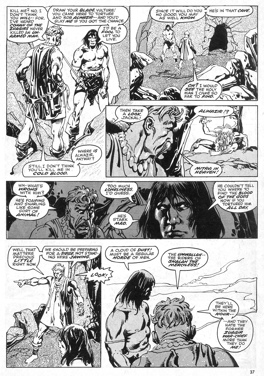 The Savage Sword Of Conan Issue #28 #29 - English 37
