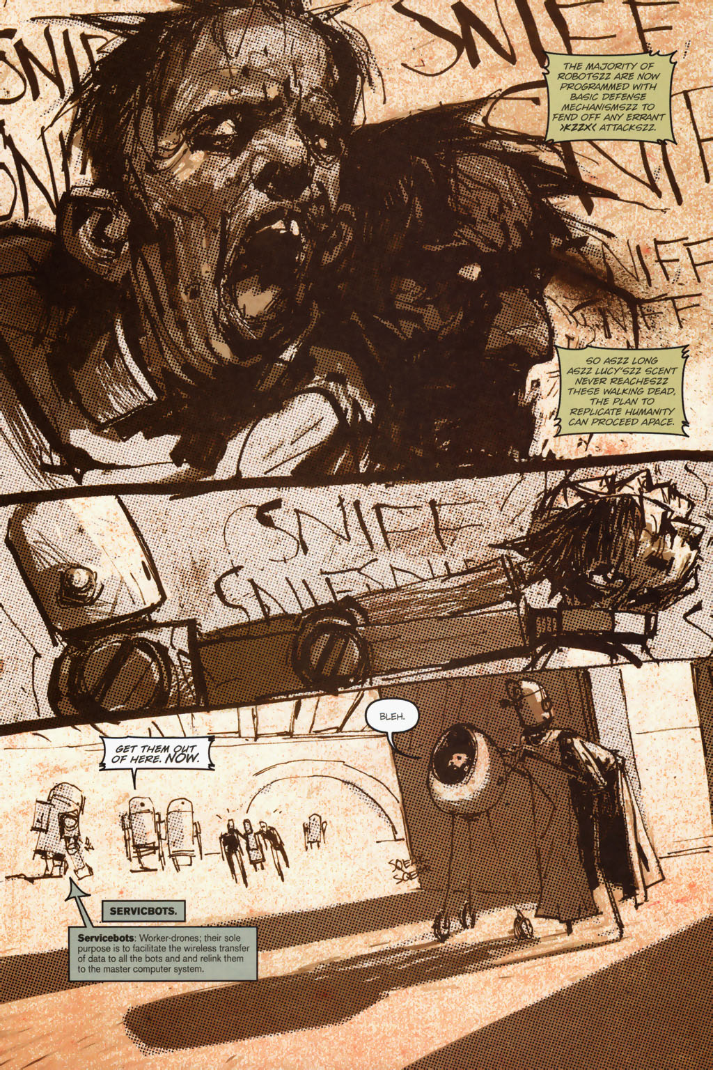 Zombies vs. Robots (2006) Issue #1 Page 19