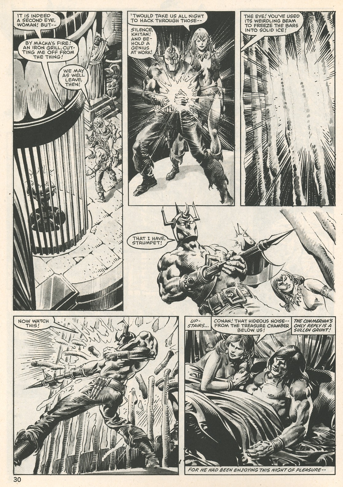 The Savage Sword Of Conan Issue #107 #108 - English 30