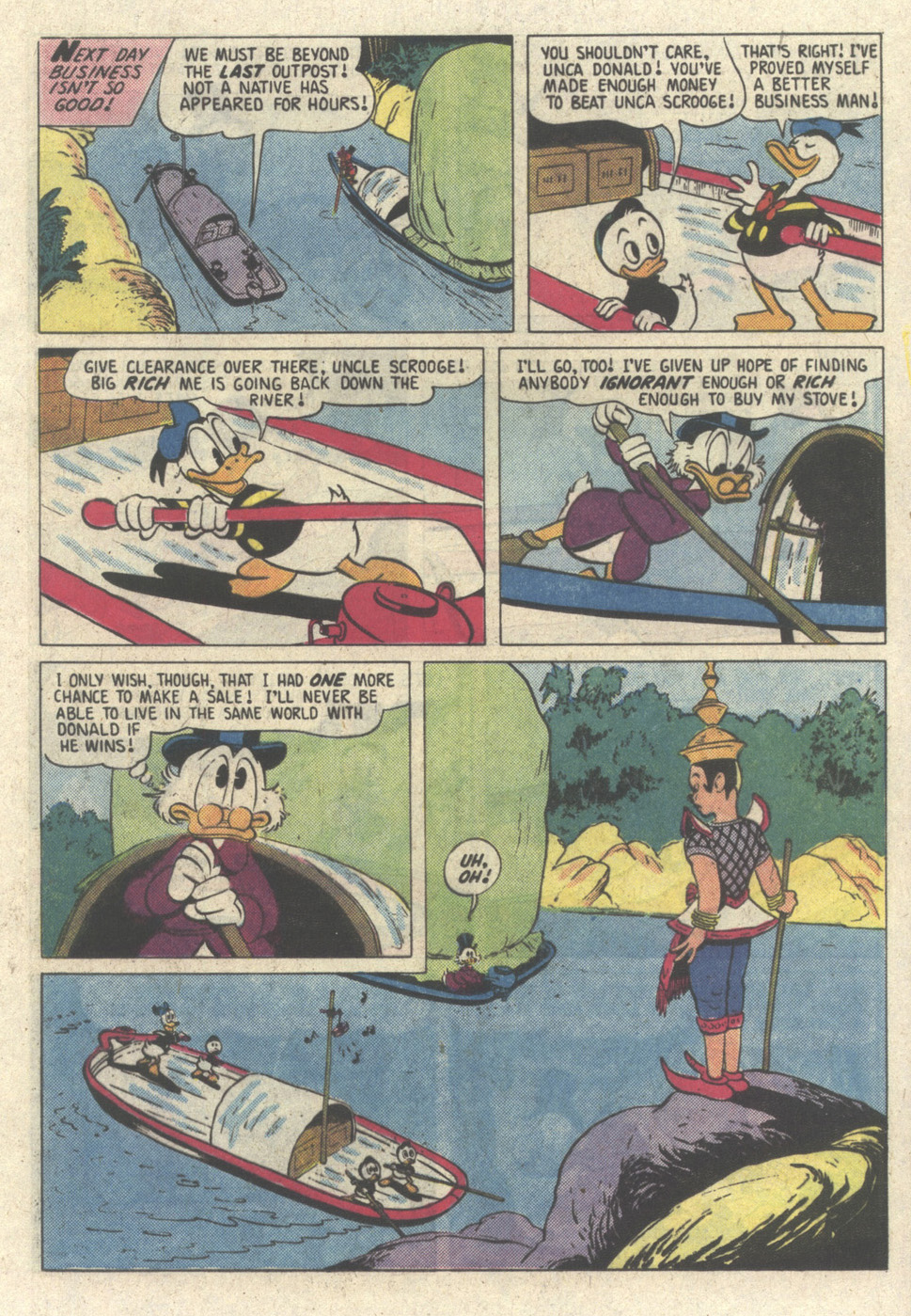 Uncle Scrooge (1953) Issue #213 #213 - English 17