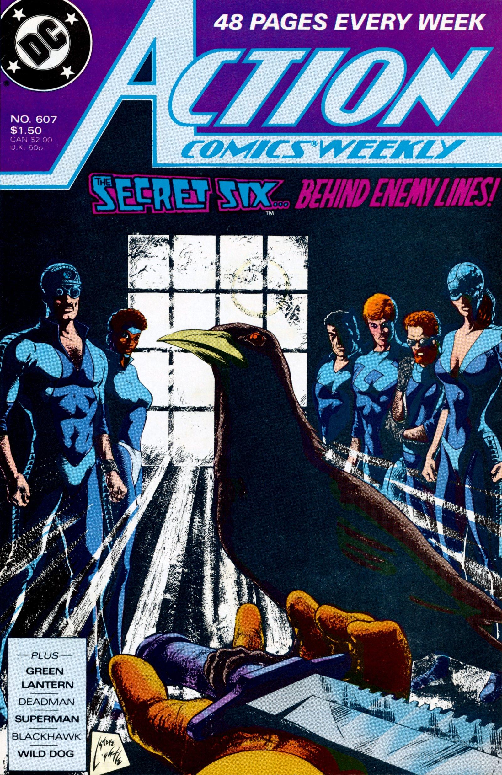 Action Comics (1938) 607 Page 1