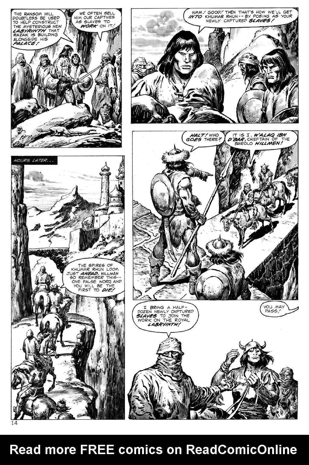 The Savage Sword Of Conan Issue #71 #72 - English 14
